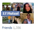 That's a lot of Facebook friends!