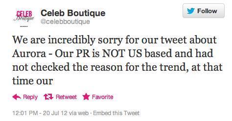 Celeb Boutique Apology