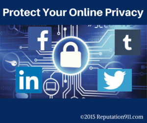protect anonymity online