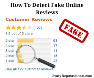 Detect Fake Reviews