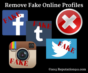 Remove Fake Online Profiles | Reputation911.com