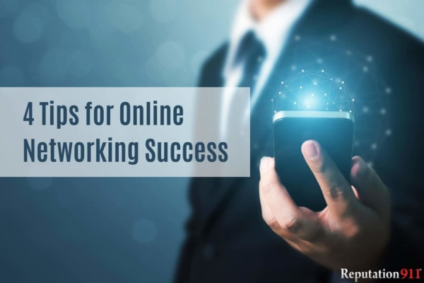 4 Tips for Online Networking Success