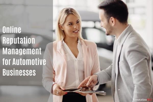 Automotive Internet Reputation Management