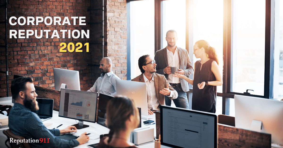 Corporate Reputation Management 2021