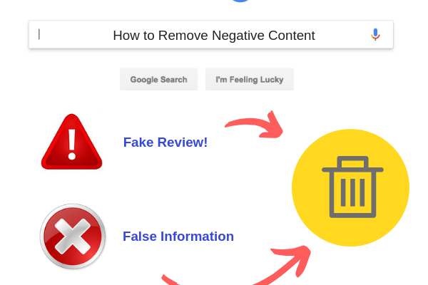 How to Remove Negative Content | Reputation911