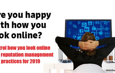 Online Reputation Management Best Practices for 2019