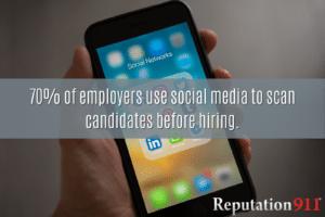 Social Media Hiring Statistic